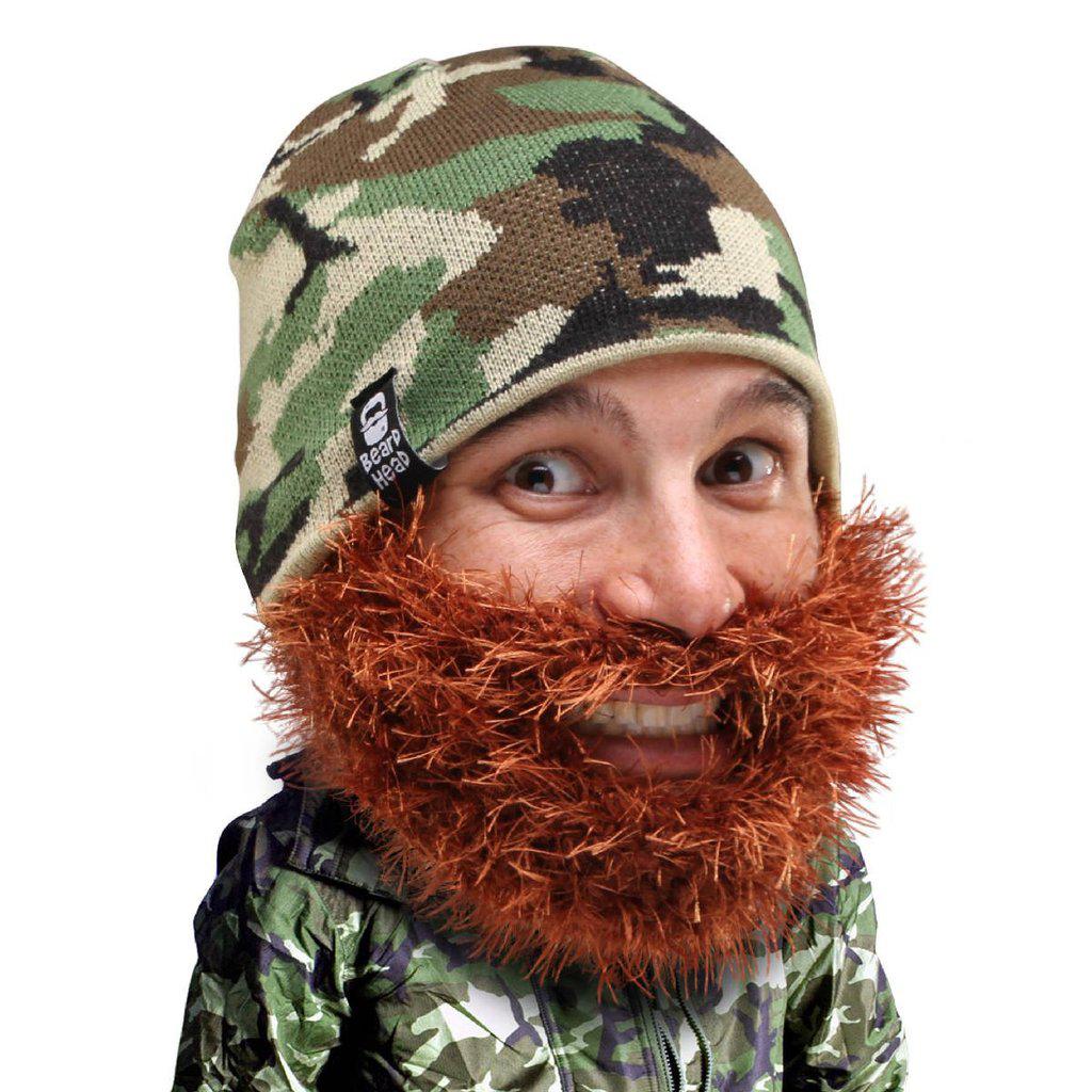Beard hat with beanie