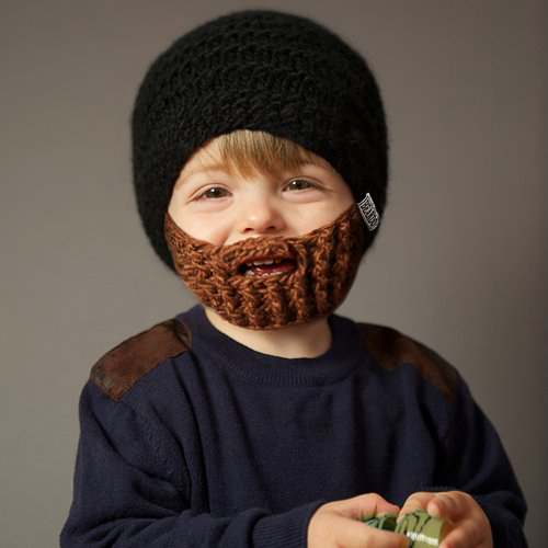 Beard Beanie for Kids