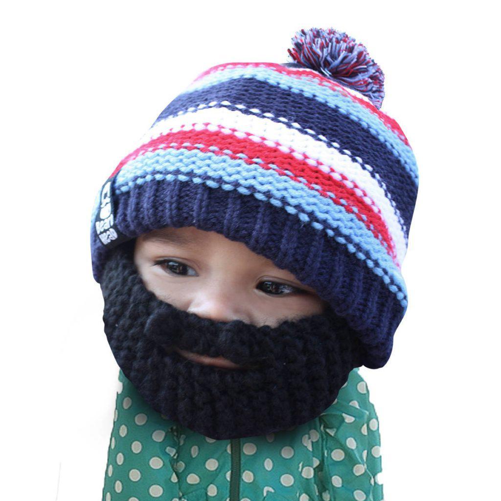 Beard Hat Pattern Knit Unique Design