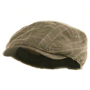 Newsboy cap hat