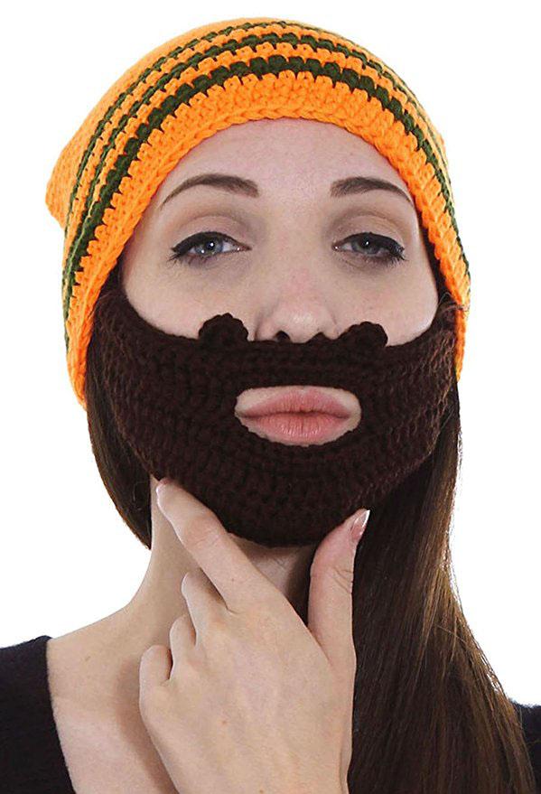 beard hat for girls