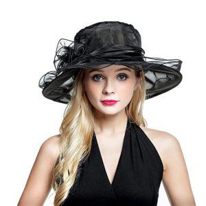 Organza Church Hats