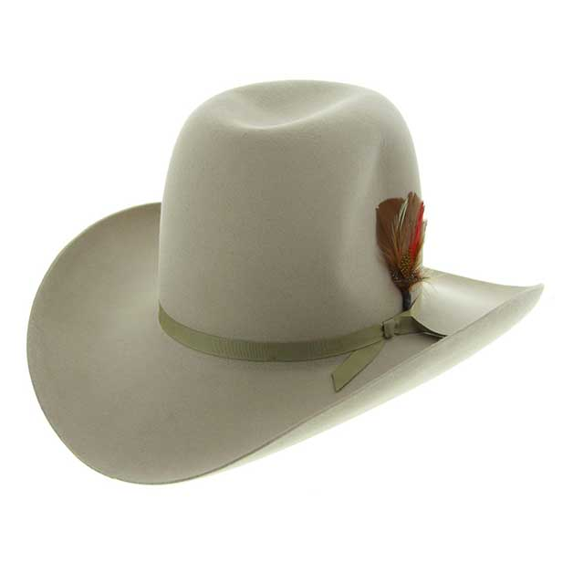Akubra hat with open crown