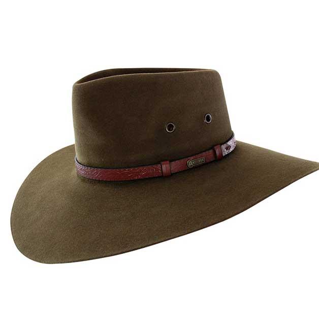 Akubra wide brim felt hat