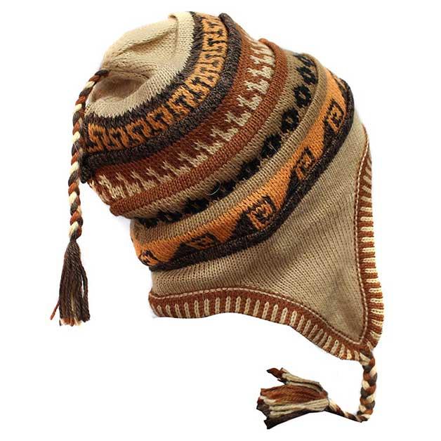 Peruvian chullo hat