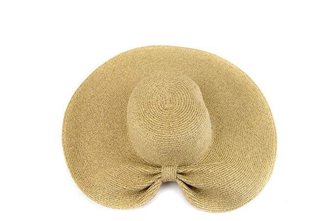1. San Diego Hat Company Women's Ultrabraid Gathered Back Style Straw Hat
