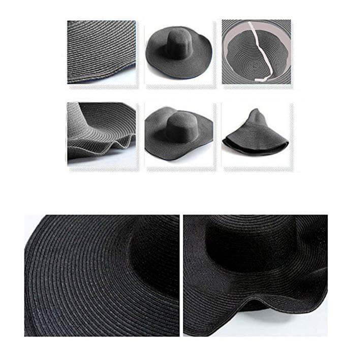 4. DRESHOW Womens Bowknot Gardening Straw Hat