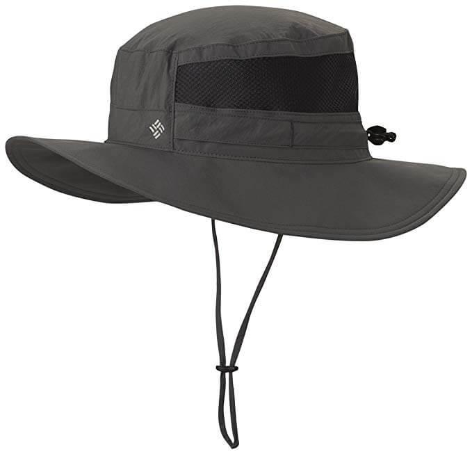 7 Columbia Unisex Bora Bora II Booney Hat, Moisture Wicking Fabric, UV Sun Protection