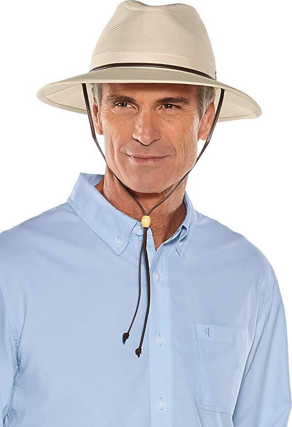 8 Coolibar UPF 50+ Men's Crushable Ventilated Hat