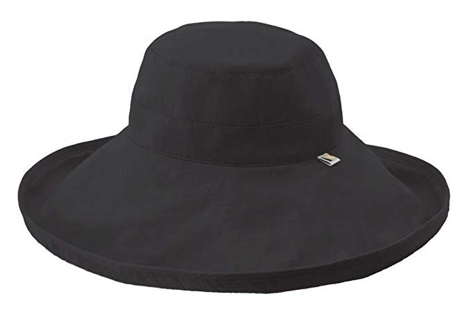 A Wide Rolled Brim Hat by Solumbra