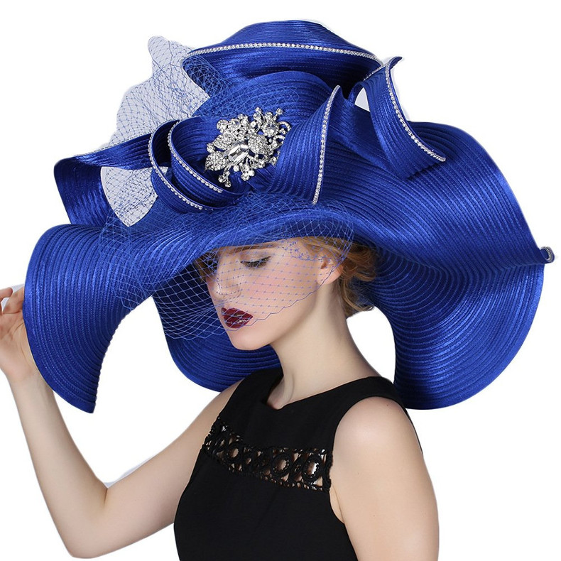 Luxurious Victorian Hat by June's Young Women