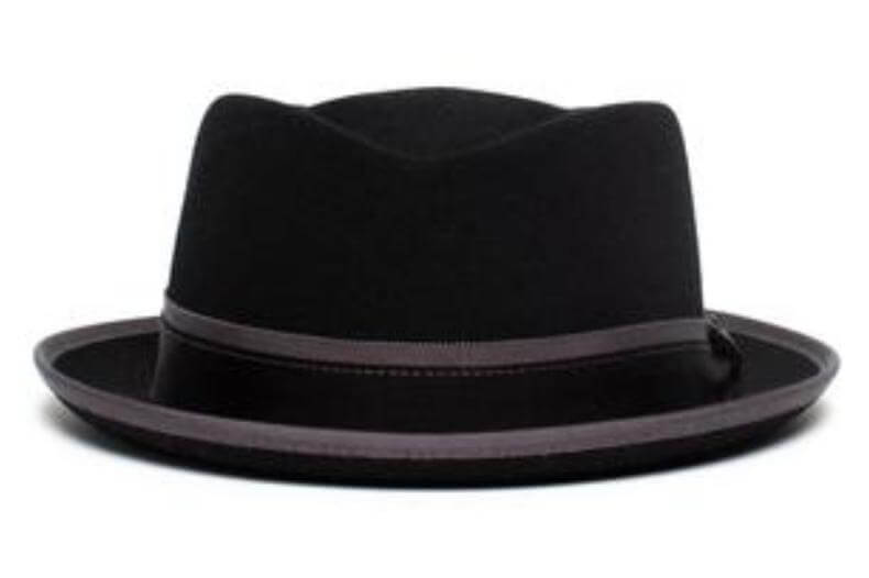 diamond face - shallow crown hat